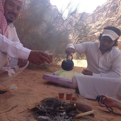 Tea Party with Bedouins